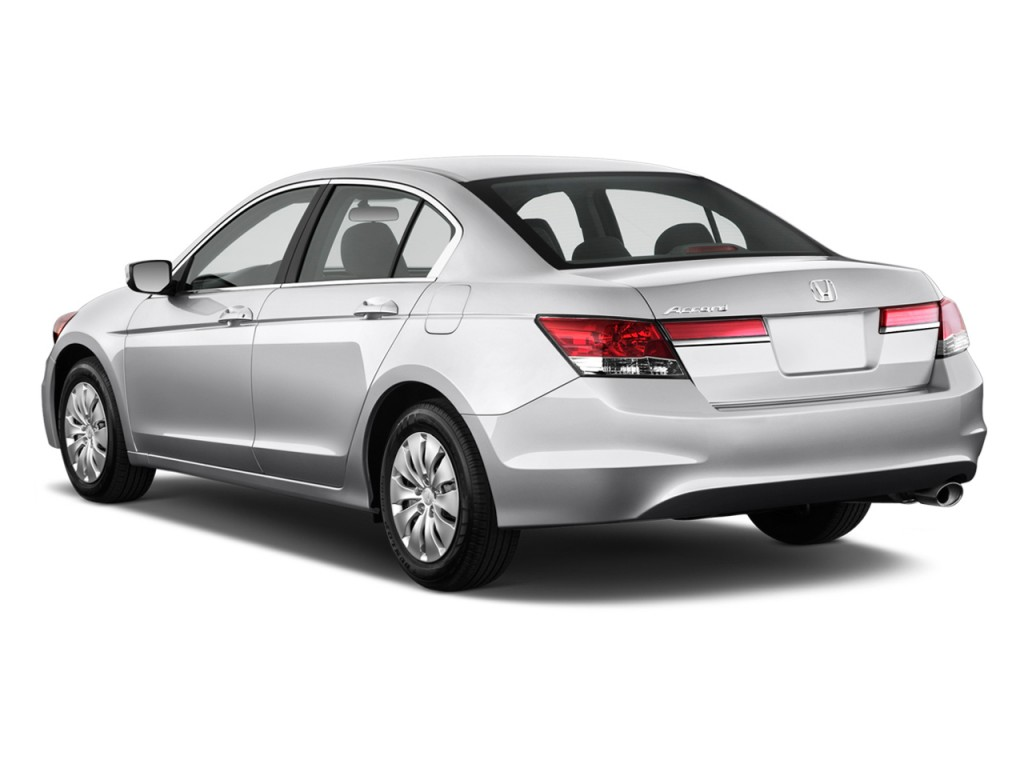 Image 2011 Honda Accord Sedan 4 Door I4 Auto Lx Angular