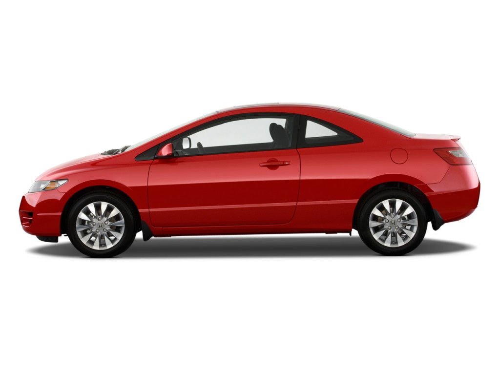 Image 2011 Honda Civic Coupe 2 Door Auto Ex Side Exterior