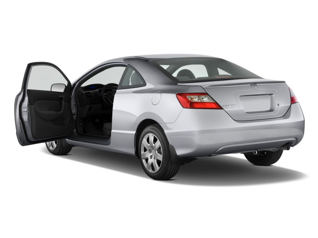 Image: 2011 Honda Civic Coupe 2-door Auto LX Open Doors ...