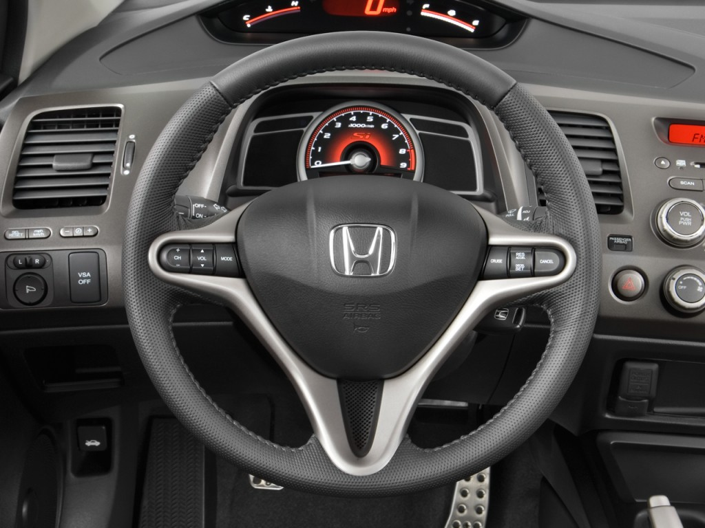 Image 2011 Honda Civic Coupe 2 Door Man Si Steering Wheel