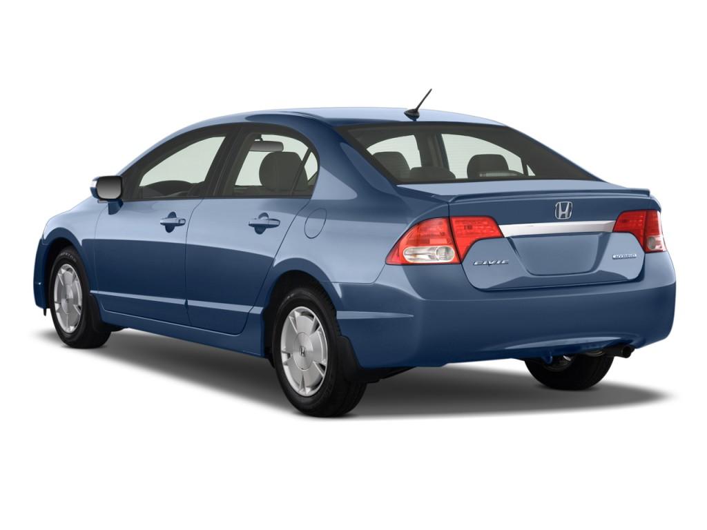 Honda honda civic 2003 hybrid : Image: 2011 Honda Civic Hybrid Angular Rear Exterior View, size ...
