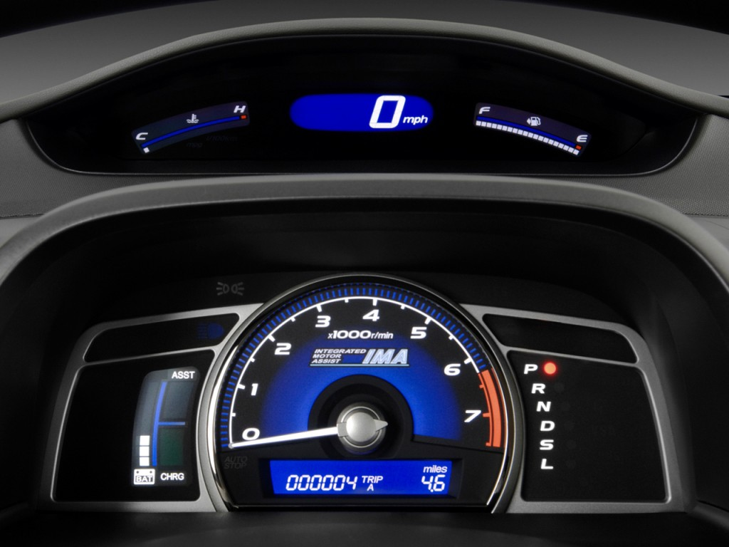Image 2011 Honda Civic Hybrid Instrument Cluster Size 1024 X 768 Type Gif Posted On
