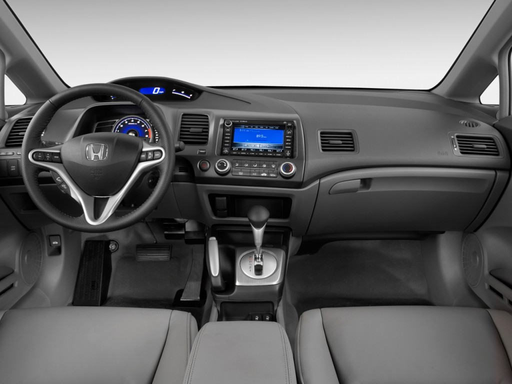 image 2011 honda civic sedan 4 door auto ex l dashboard. Black Bedroom Furniture Sets. Home Design Ideas