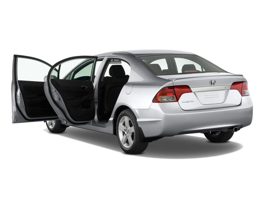 Image 2011 Honda Civic Sedan 4 Door Auto Lx S Open Doors
