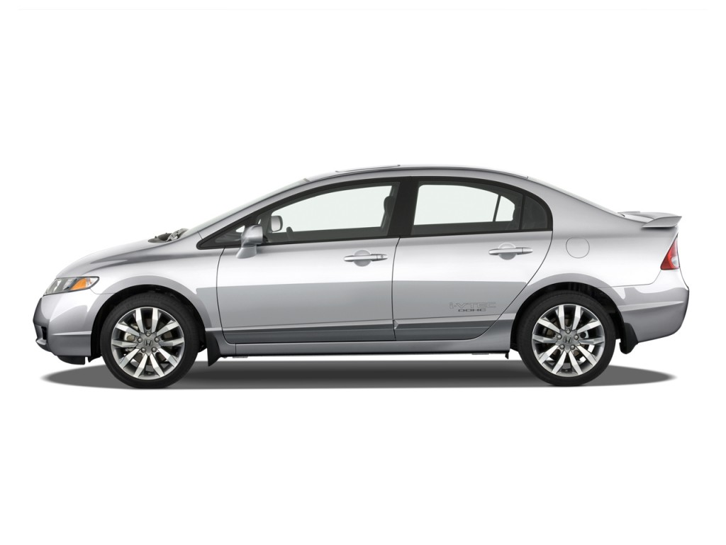 image 2011 honda civic sedan 4 door man si w navi side. Black Bedroom Furniture Sets. Home Design Ideas