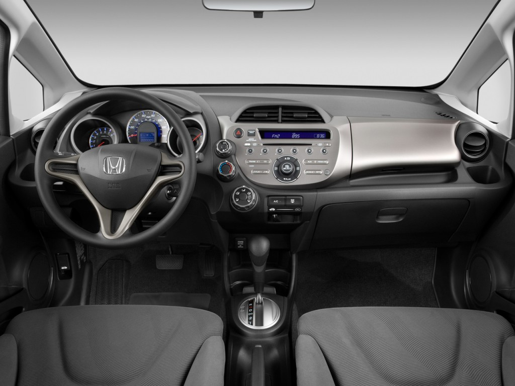 Image: 2011 Honda Fit 5dr HB Auto Dashboard, size: 1024 x ...