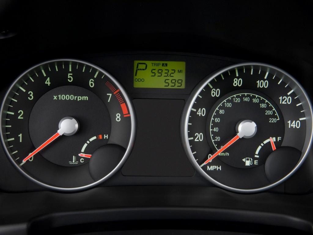 Image 2011 Hyundai Accent 3dr Hb Auto Se Instrument