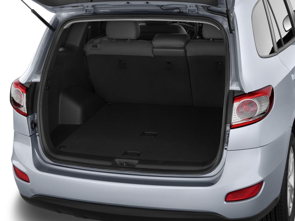Image 2011 Hyundai Santa Fe Fwd 4 Door I4 Auto Gls Trunk