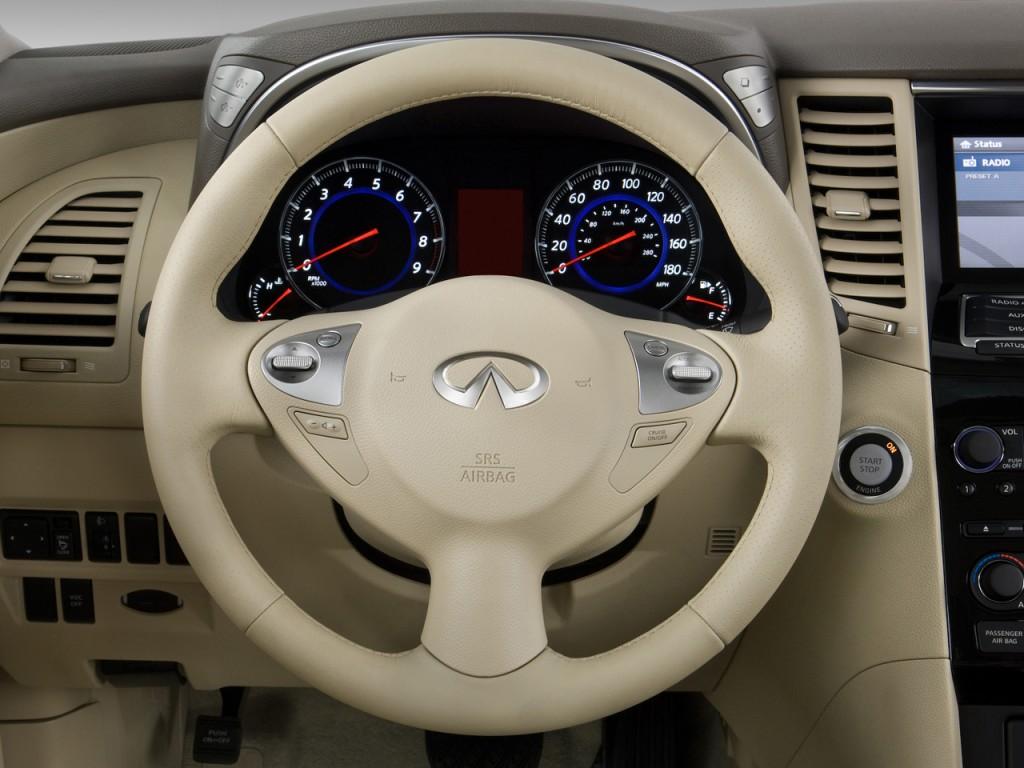 Image 2011 Infiniti Fx35 Rwd 4 Door Steering Wheel Size