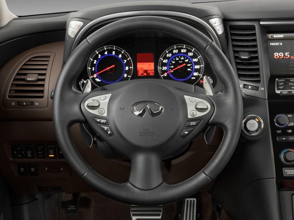 2011 infiniti fx50 awd 4 door steering wheel