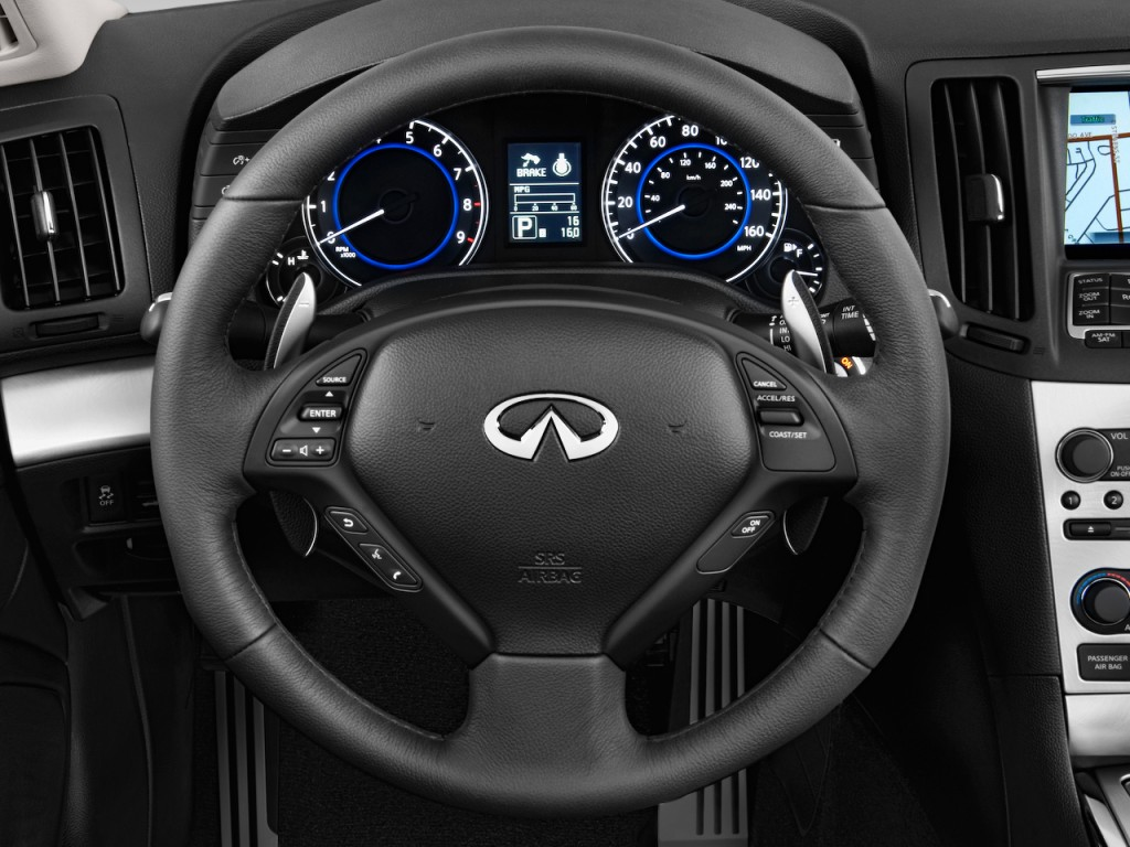 Image: 2011 Infiniti G37 Convertible 2-door Base Steering ...