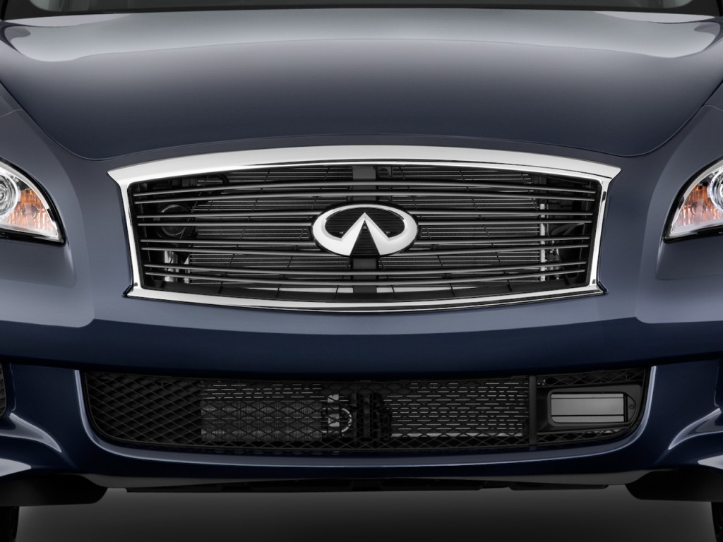 Image: 2011 Infiniti M37 4-door Sedan RWD Grille, size ...