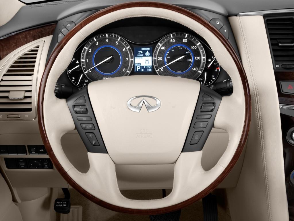 Image 2011 Infiniti Qx56 4wd 4 Door 7 Passenger Steering