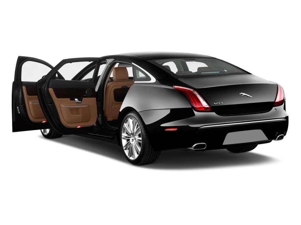 Image 2011 Jaguar Xj 4 Door Sedan Supercharged Open Doors