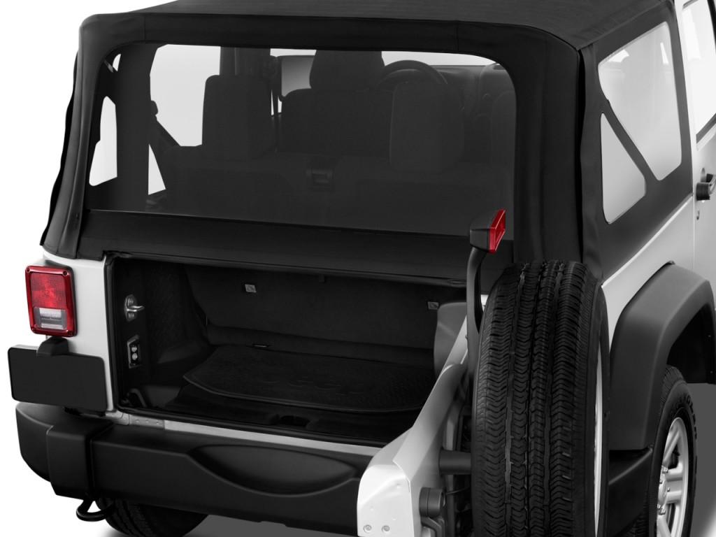 Image 2011 Jeep Wrangler 4wd 2 Door Sport Trunk Size