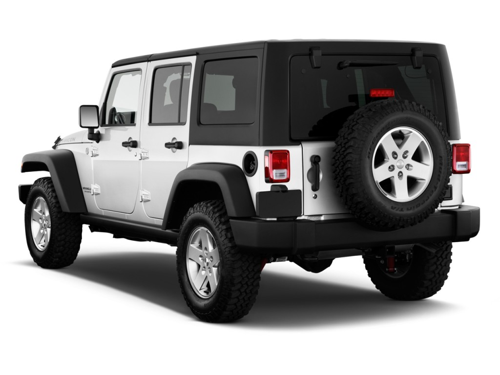 image 2011 jeep wrangler unlimited 4wd 4 door rubicon angular rear exterior view size 1024 x. Black Bedroom Furniture Sets. Home Design Ideas