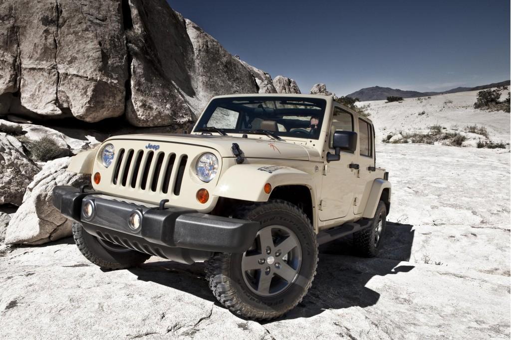 2011 Jeep Wrangler Mojave: 2011 New York Auto Show