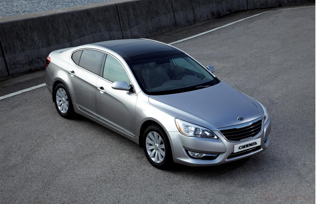 2011 Kia Cadenza To Replace Amanti Meanwhile Optima Is