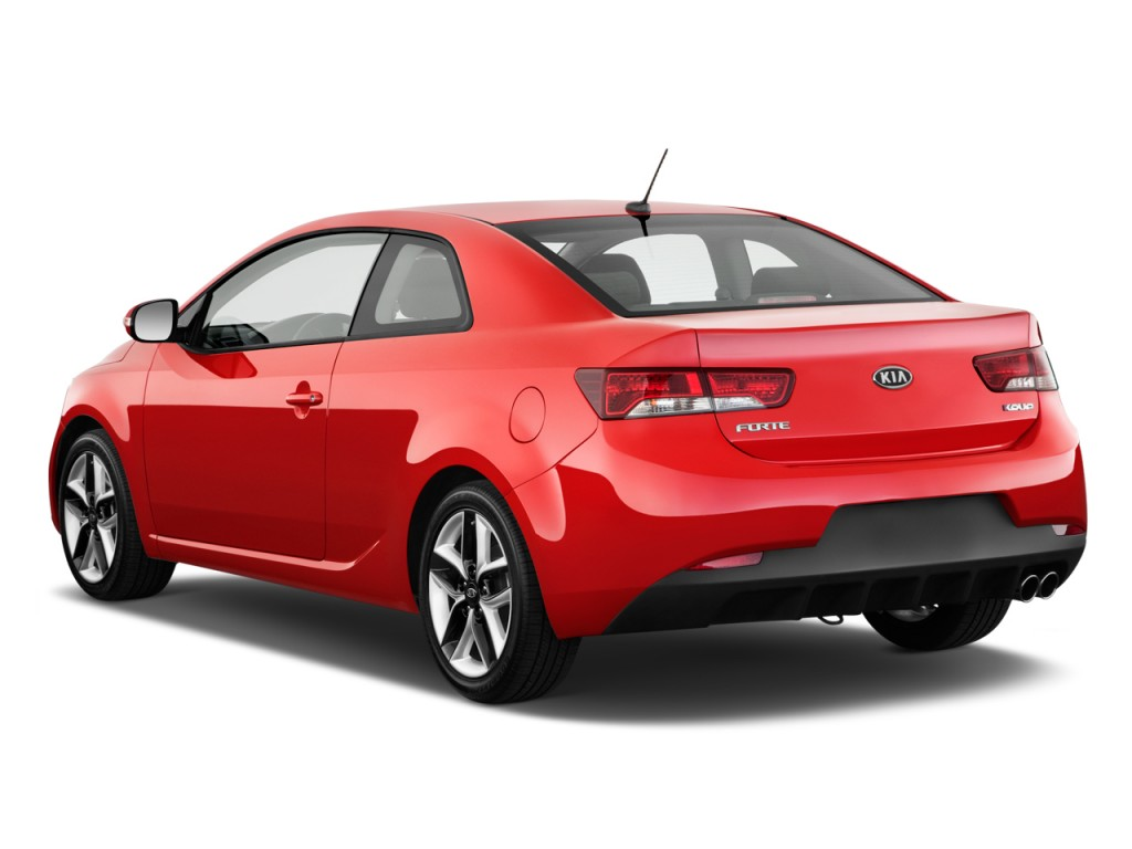 2011 kia forte koup 2 door coupe auto sx angular rear exterior view