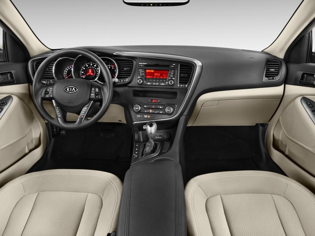 Image 2011 Kia Optima 4 Door Sedan 2 4l Auto Lx Dashboard