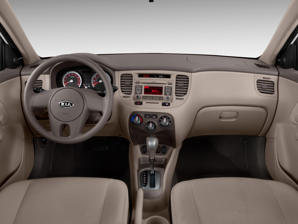 image 2011 kia rio 4 door sedan lx dashboard size 1024. Black Bedroom Furniture Sets. Home Design Ideas