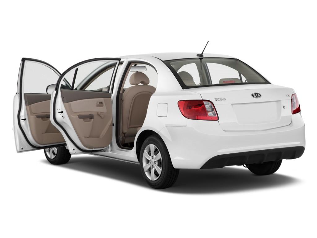 Image 2011 Kia Rio 4 Door Sedan Lx Open Doors Size 1024