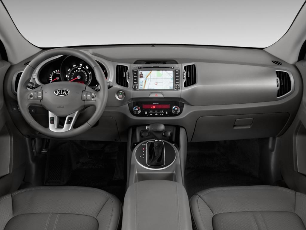 Image: 2011 Kia Sportage 2WD 4-door EX Dashboard, size ...