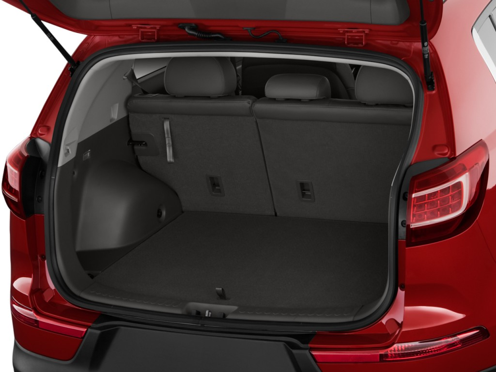 Image: 2011 Kia Sportage 2WD 4-door EX Trunk, size: 1024 x ...