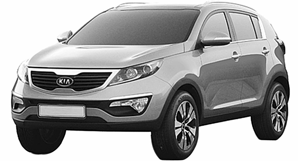 2011 Kia Sportage Revealed In Leaked Patents