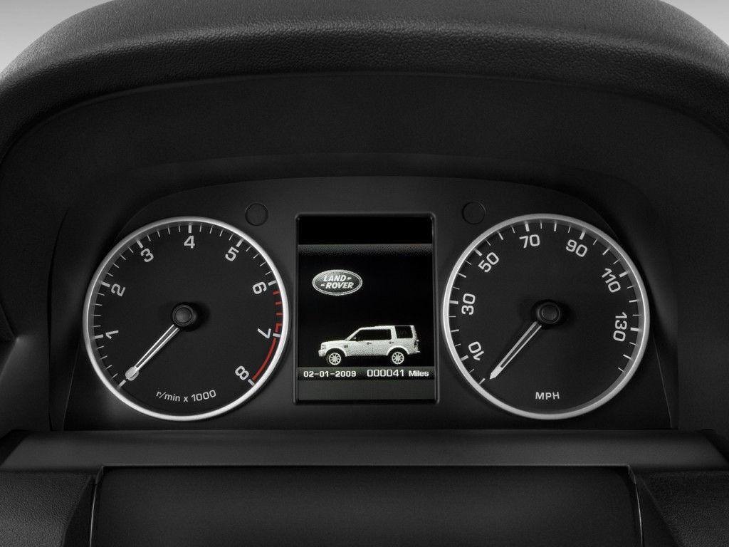 Image 2011 Land Rover Lr4 4wd 4 Door V8 Instrument