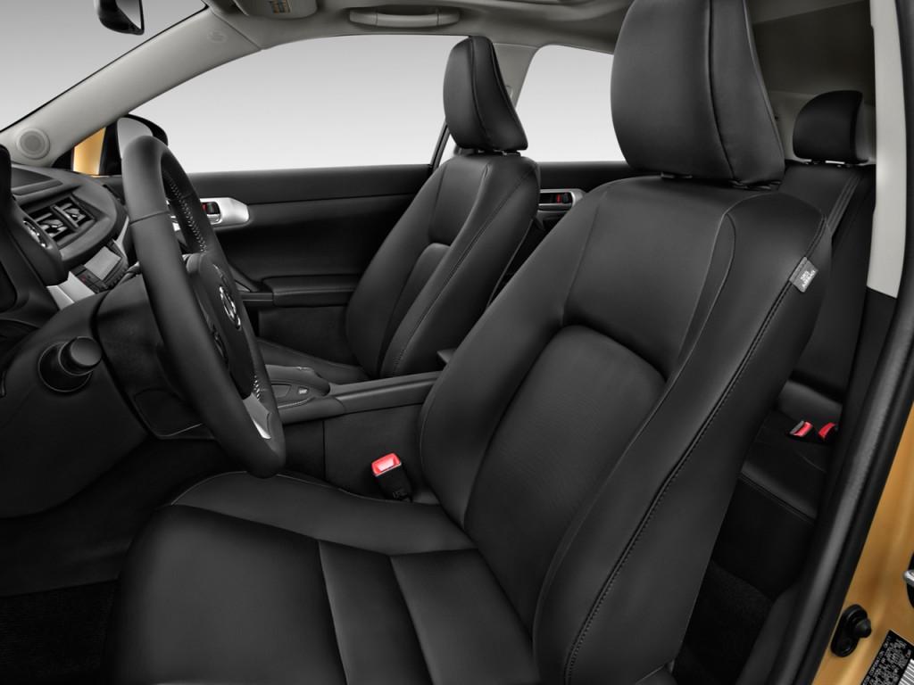 Image: 2011 Lexus CT 200h FWD 4-door Hybrid Front Seats ...