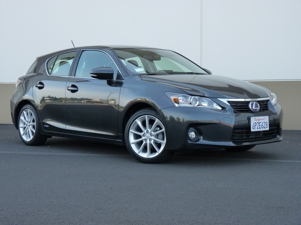 2011 Lexus CT 200h  -  Driven, June 2011