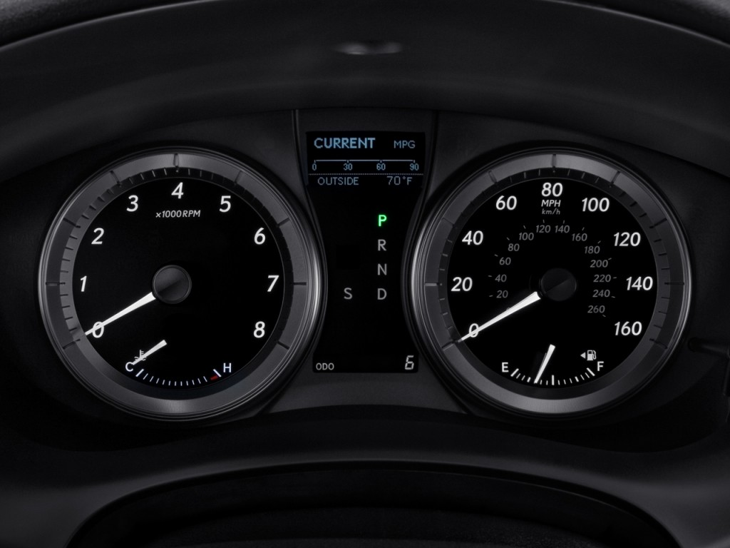 Image: 2011 Lexus ES 350 4-door Sedan Instrument Cluster ...