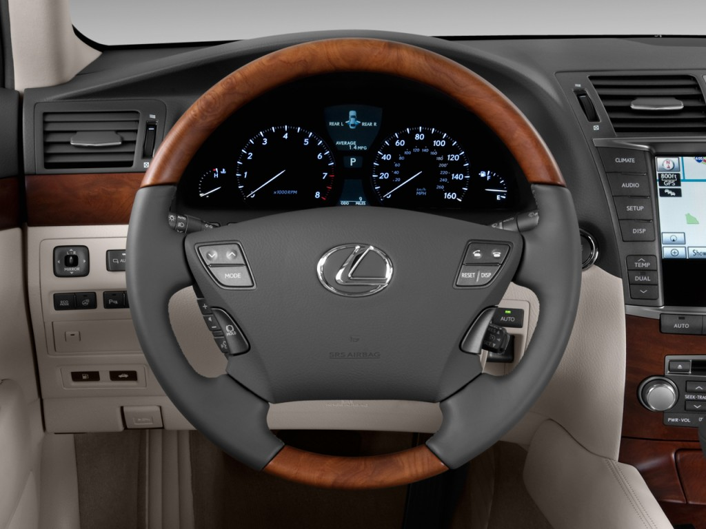 Image 2011 Lexus Ls 460 4 Door Sedan L Rwd Steering Wheel