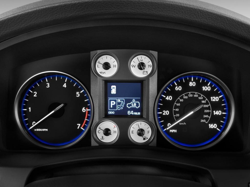 Image: 2011 Lexus LX 570 4WD 4-door Instrument Cluster ...