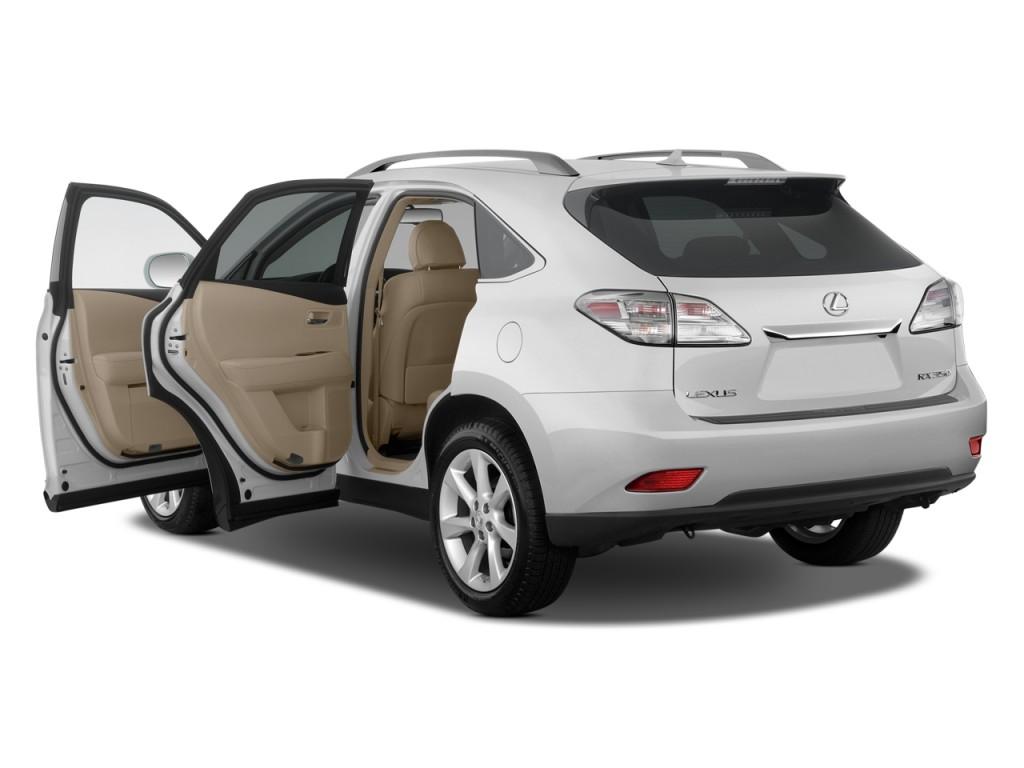 Image: 2011 Lexus RX 350 FWD 4-door Open Doors, size: 1024 ...