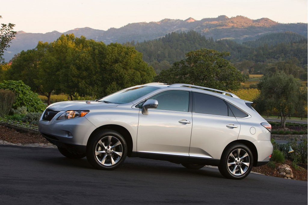 Recalls on lexus rx350