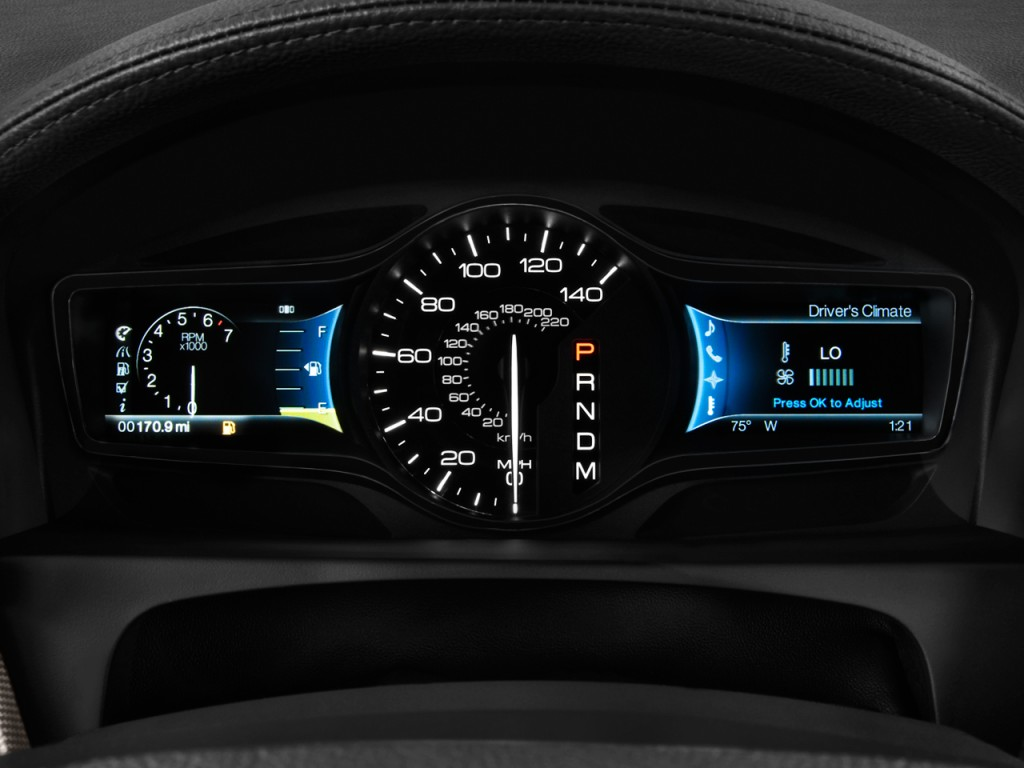 Image: 2011 Lincoln MKX FWD 4-door Instrument Cluster ...