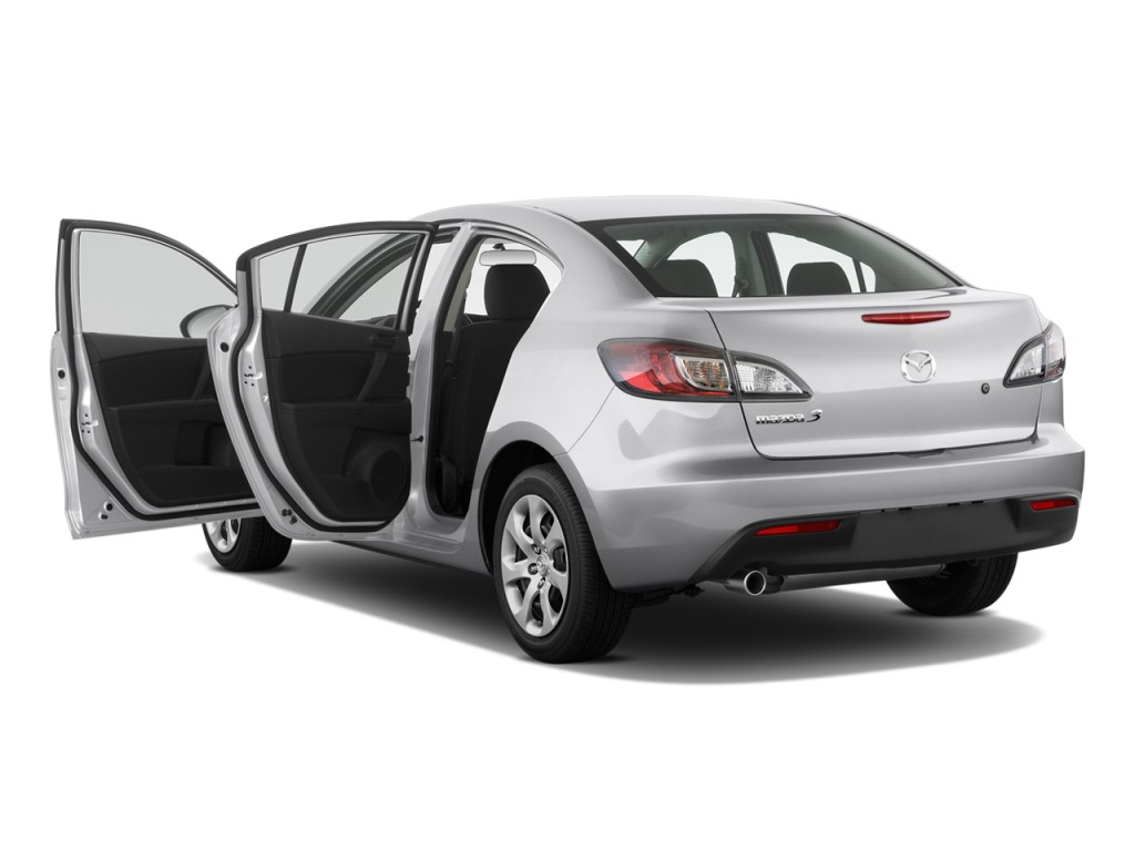 Image: 2011 Mazda MAZDA3 4-door Sedan Auto i Sport Open ...