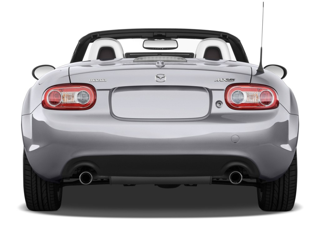 2011 Mazda MX 5 Miata 2 Door Convertible PRHT Auto Grand Touring Rear  Exterior View