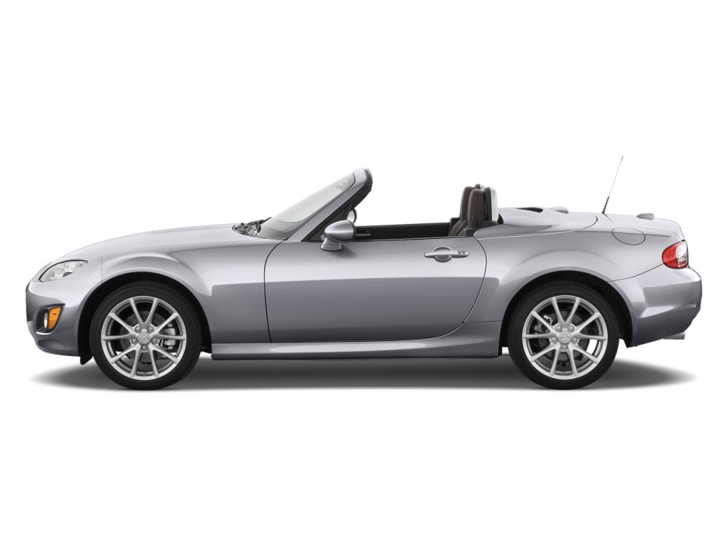 2011 Mazda MX 5 Miata 2 Door Convertible PRHT Auto Grand Touring Side  Exterior View