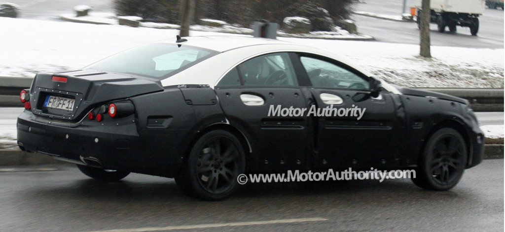 2011 mercedes benz cls prototype spy shots december 005