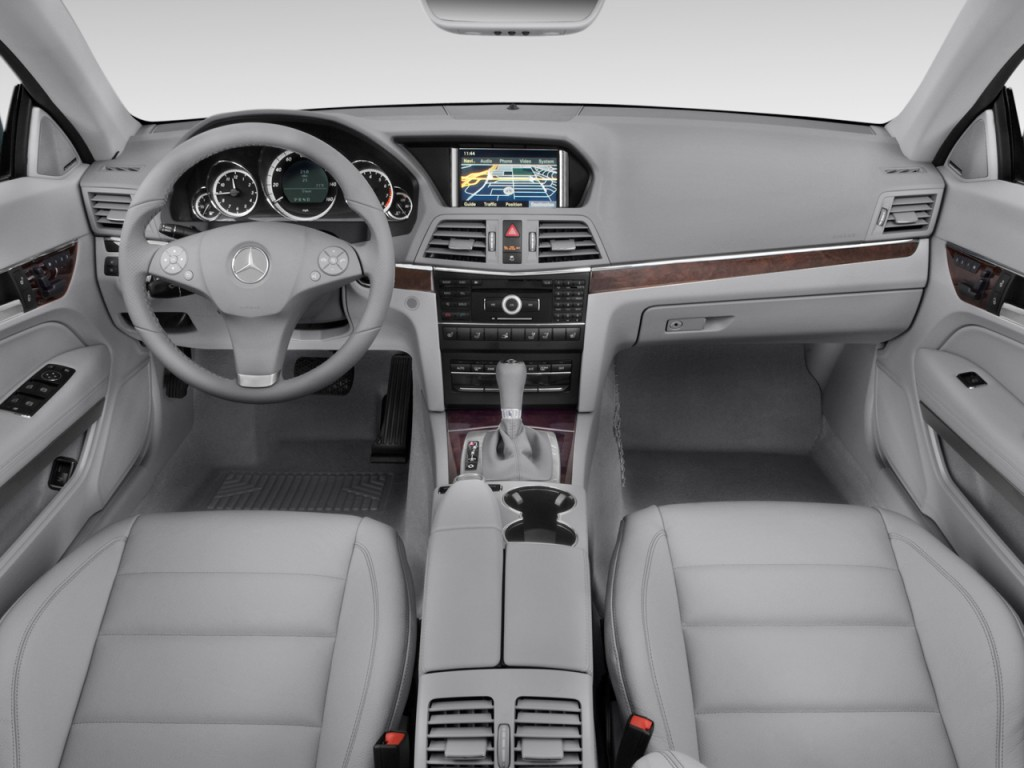 Image: 2011 Mercedes-Benz E Class 2-door Cabriolet 3.5L RWD Dashboard, size: 1024 x 768, type ...