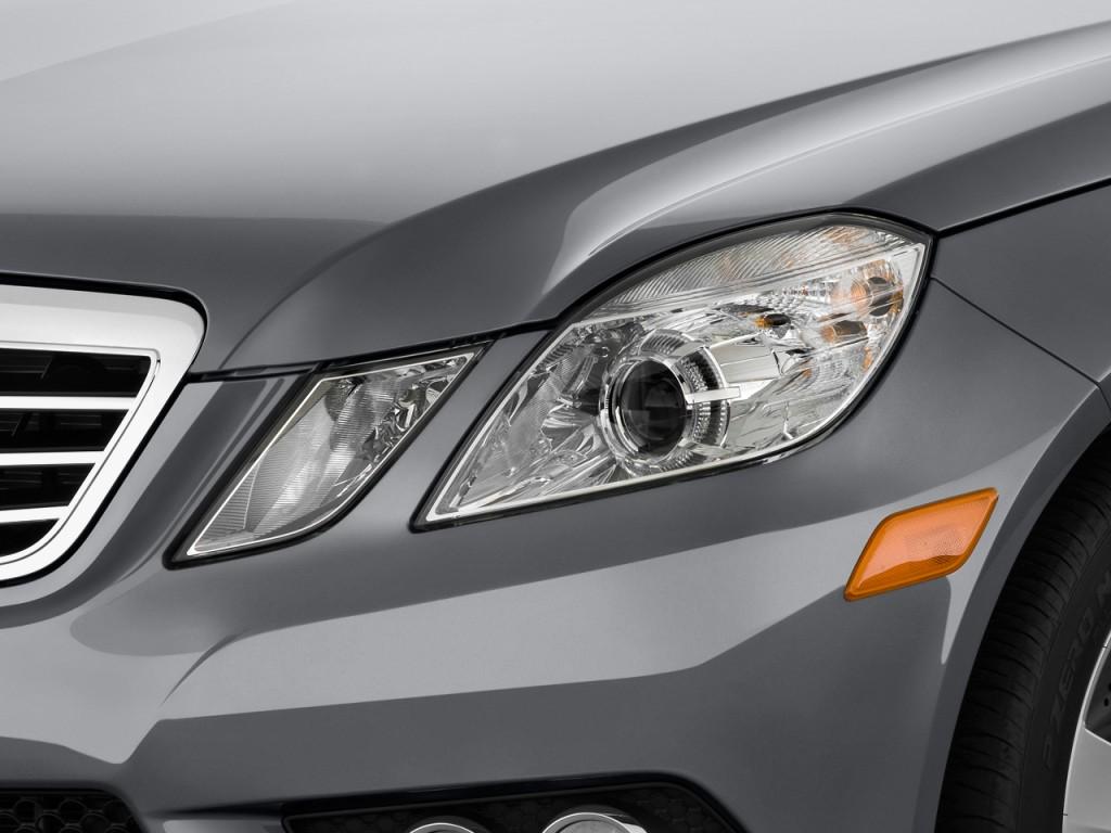 2011 Mercedes-Benz E Class 4-door Sedan Sport 3.5L RWD Headlight