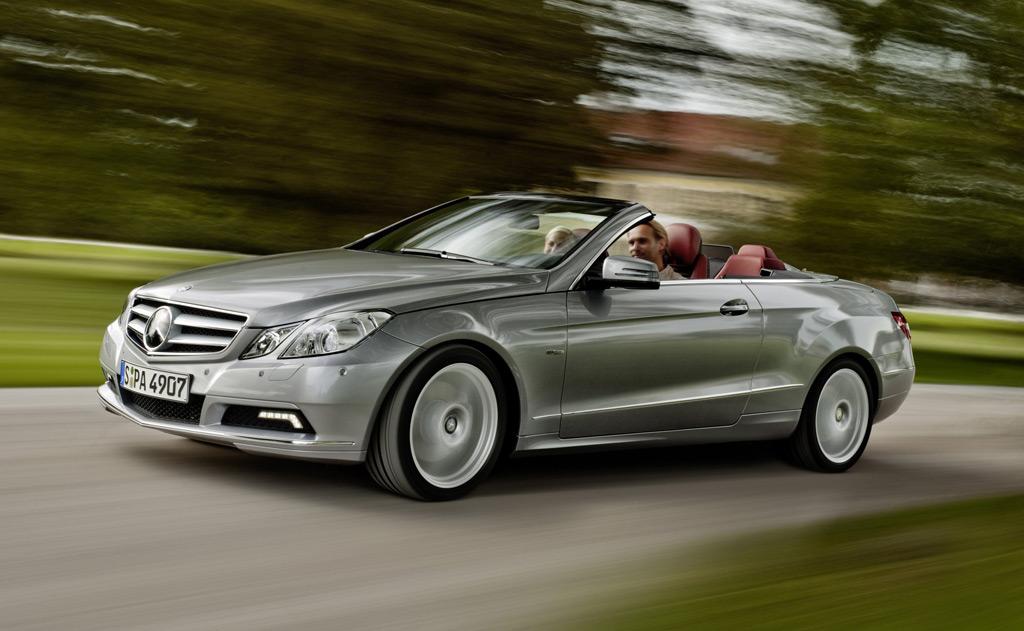 2011 Mercedes Benz E Class Cabriolet Preview