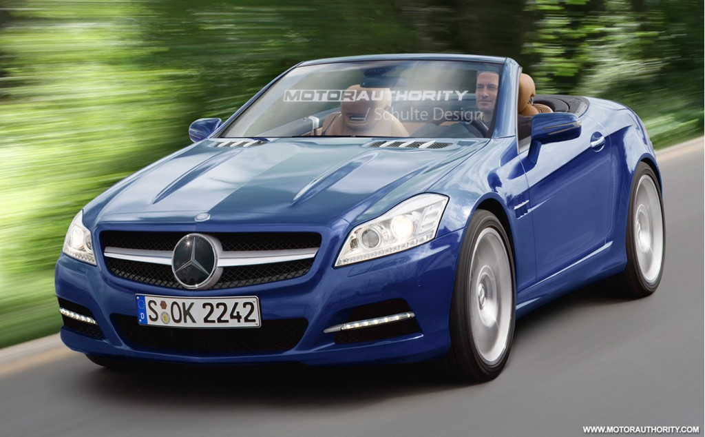 2011 mercedes benz slk preview rendering 001