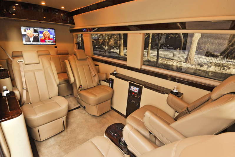 Brilliant Mercedes Benz Sprinter Van Interior
