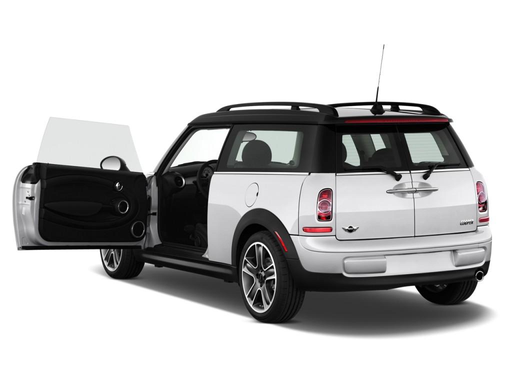 Image: 2011 MINI Cooper Clubman 2-door Coupe Open Doors ...