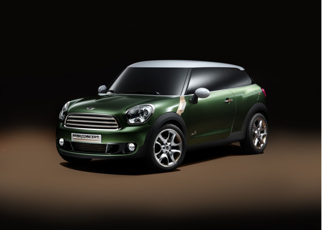 2013 MINI Clubvan, Paceman May Be Followed By Two New Models