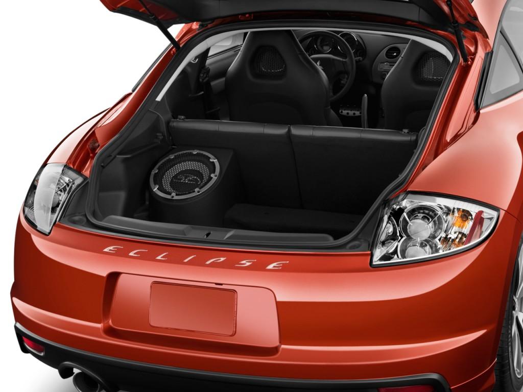 2011 mitsubishi eclipse 3dr coupe auto gs sport trunk